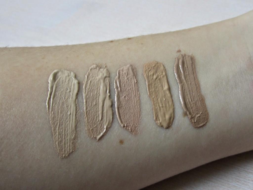 Dr Hauschka foundation kleuren