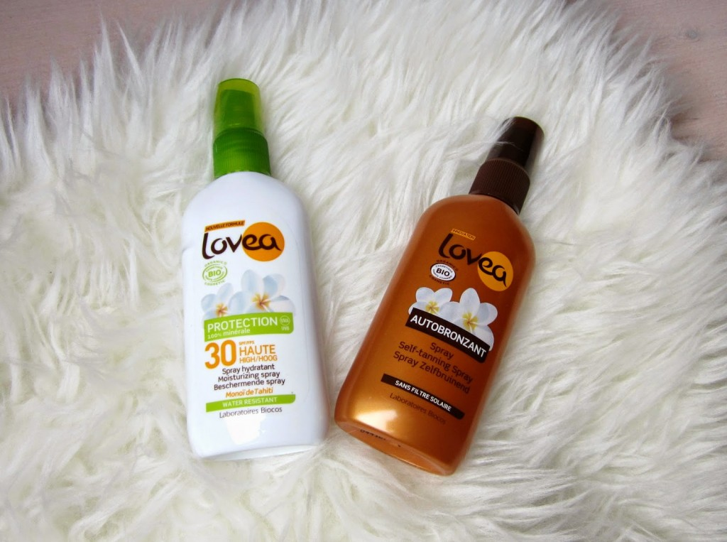 Lovea sun spray en self tanning spray