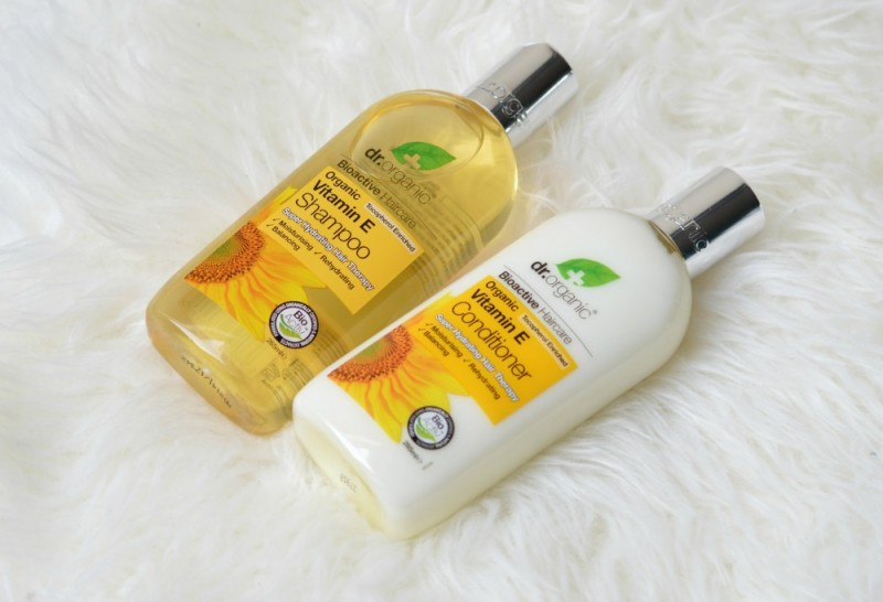 Dr Organic vitamin E shampoo conditioner
