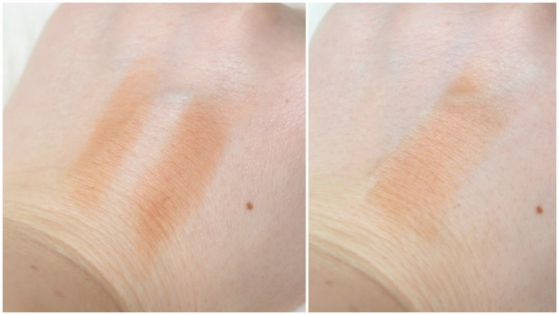 Lavera make-up swatches