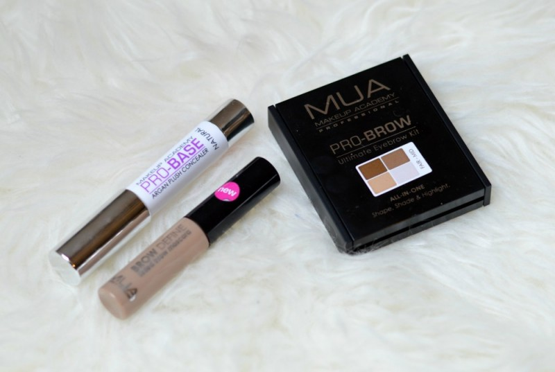 MUA perfect brows review