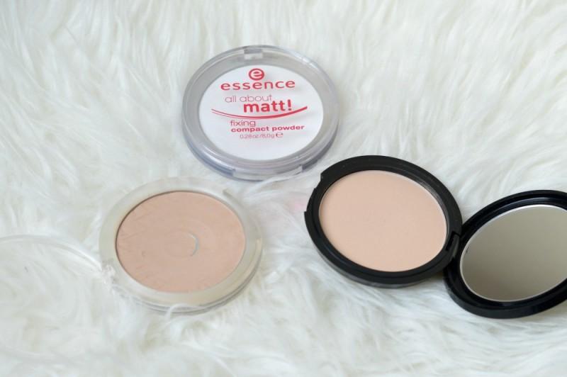 Makeup poeder gebruiken