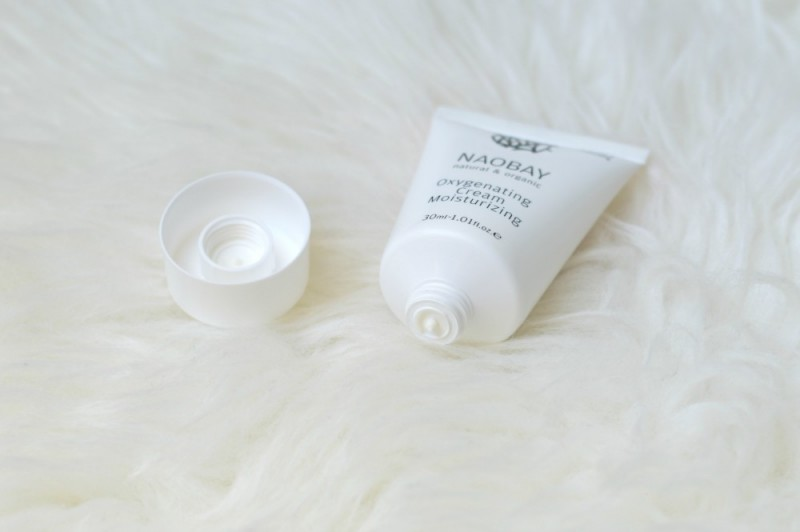 Review Naobay moisturising day cream