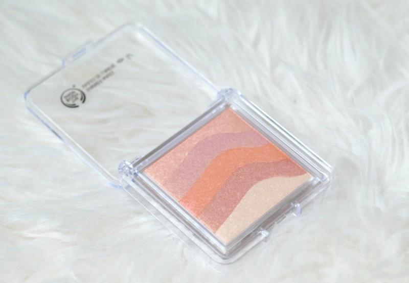 The Body Shop shimmer waves coral ervaring