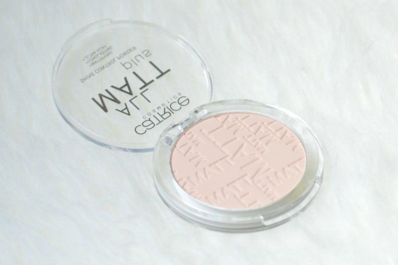 Review Catrice all matt plus powder