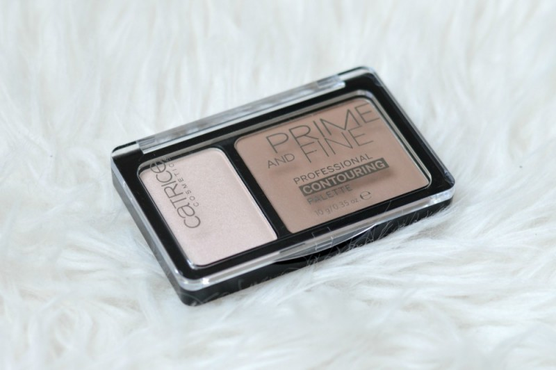 Catrice prime and fine contouring palette