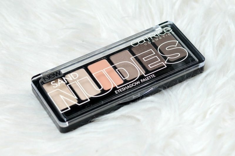 Review Catrice sand nudes eyeshadow palette