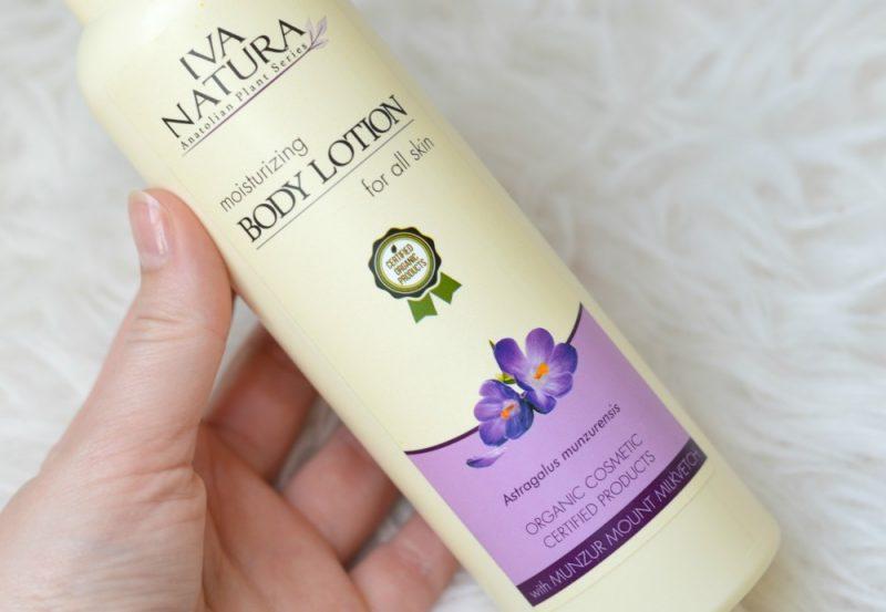 Iva Natura body lotion vegan