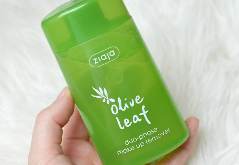 Review Ziaja olive leaf twee fasen make-up remover