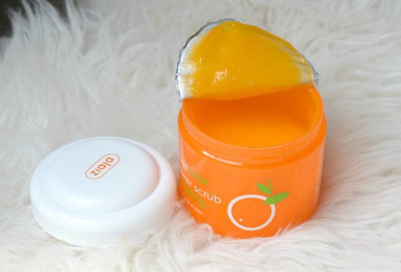 Review Ziaja sinaasappel shower scrub