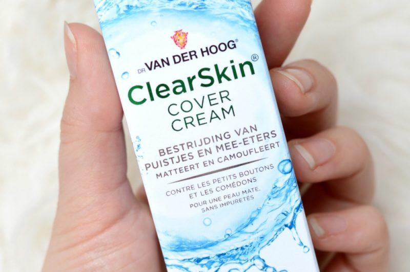 Dr van der hoog clearskin cover cream