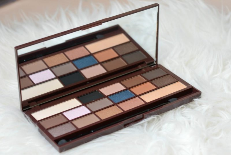 I heart make-up salted caramel palette review