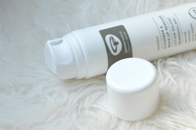Green People cleanser and make-up remover
