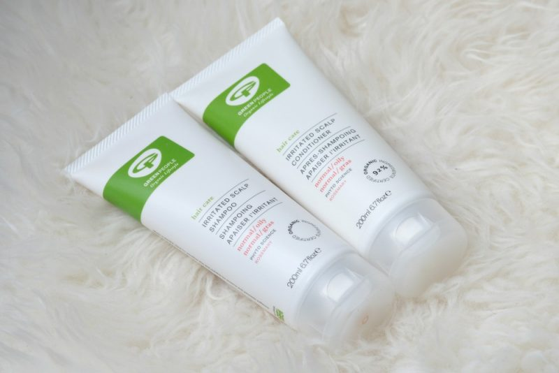 Green People irritated scalp shampoo en conditioner