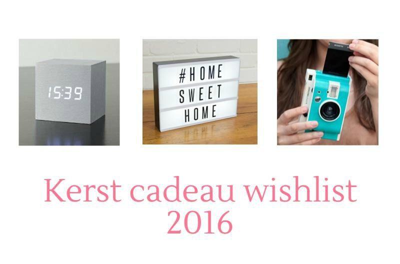 Kerst cadeau wishlist 2016