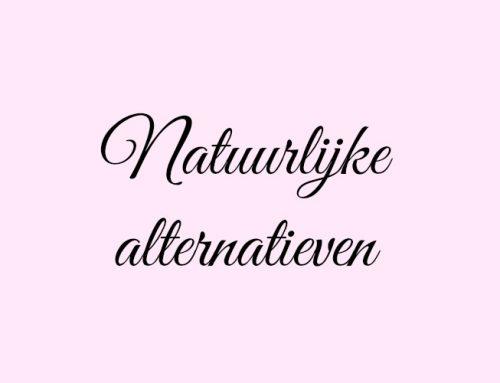 Natuurlijke alternatieven voor verzorging & make-up