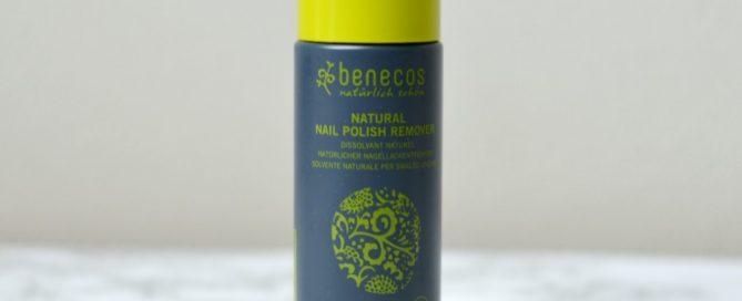 Benecos nagellak remover review