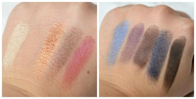 ELF Day to Night Eyeshadow Palette swatches
