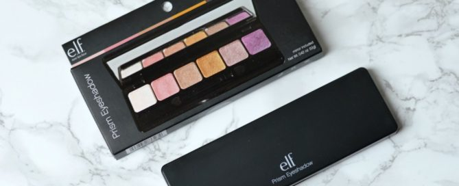 ELF Prism Eyeshadow Palette review