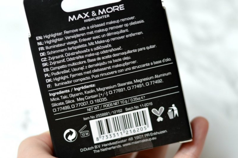 Review Max & more highlighter