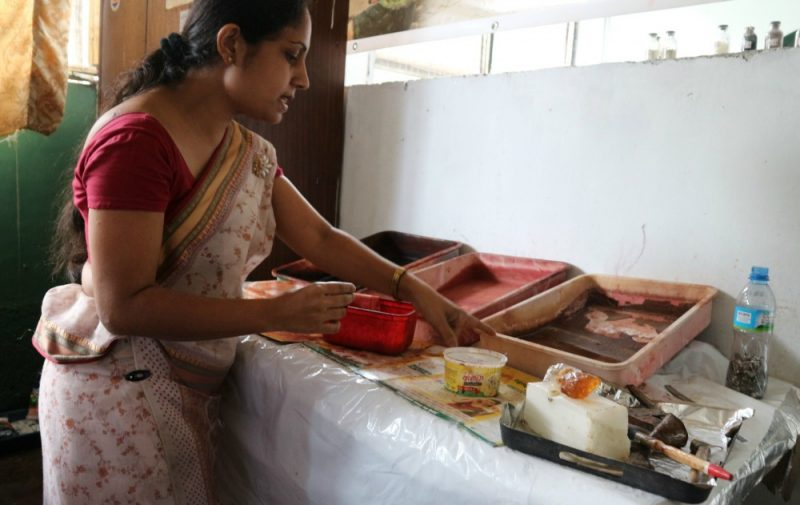 Batik factory Sri Lanka