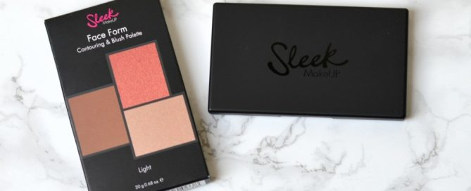 Sleek Face Form Palette Light review