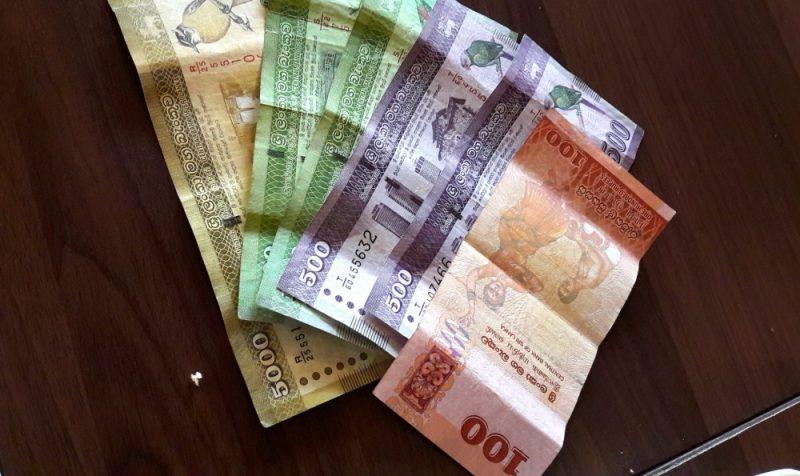 Sri Lanka geld