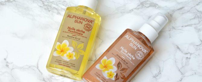 ALPHANOVA sun oil review
