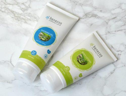 Benecos aloë vera shower gel en body lotion