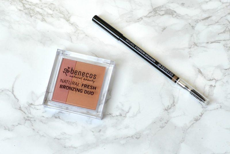 Benecos bronzing duo en eyebrow designer