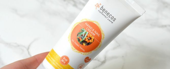 Review Benecos hand and nail cream