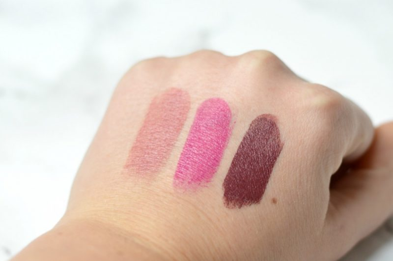 Bh's Cosmetics Color Lock Long Lasting Matte Lipsticks swatches
