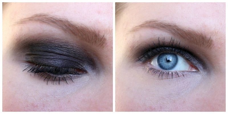 ELF day to night palette look