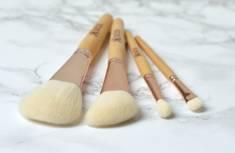 Review Boho vegan brushes