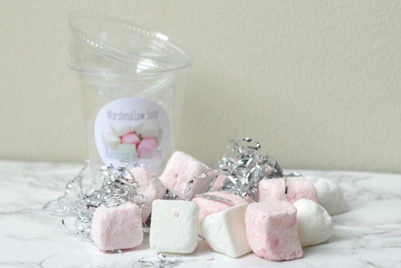 Wat maakt je mooi marshmallow soap