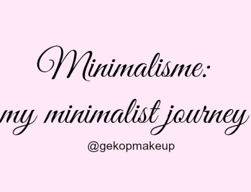 Minimalisme: my minimalist journey – video!