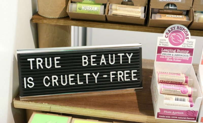 True beauty is cruelty free