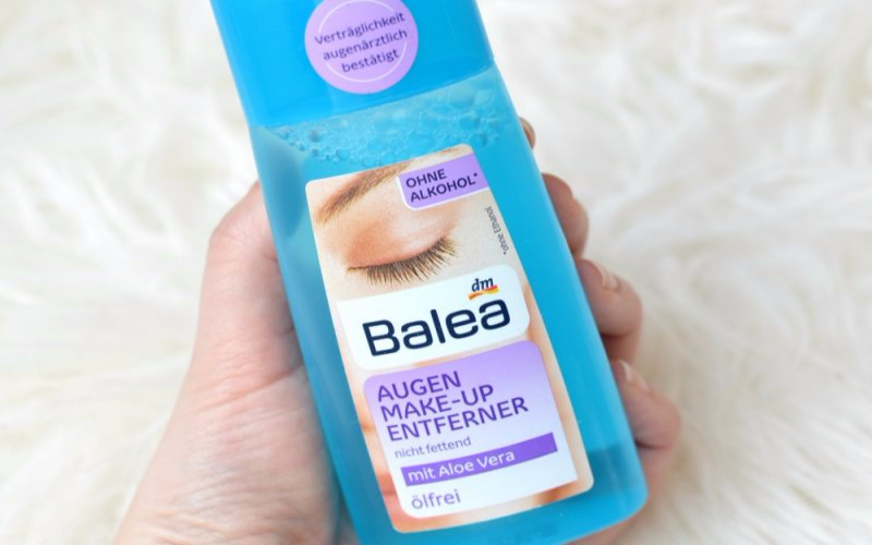 Balea oog make-up remover