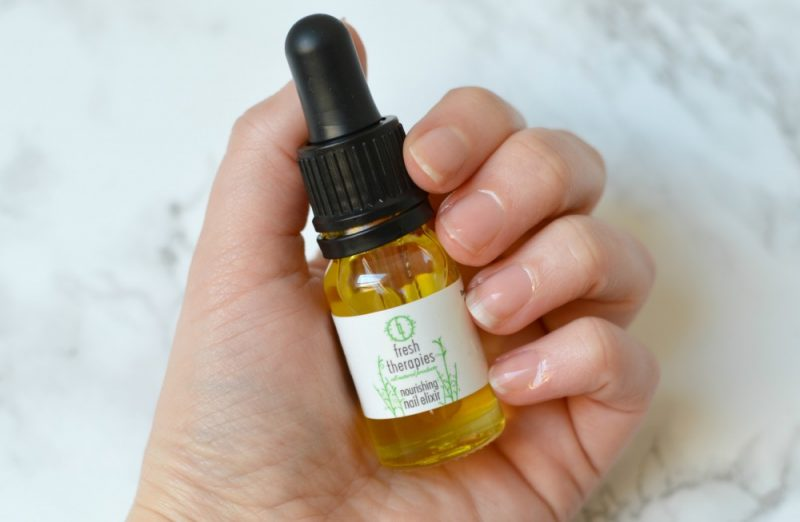 Fresh Therapies nail elixer review