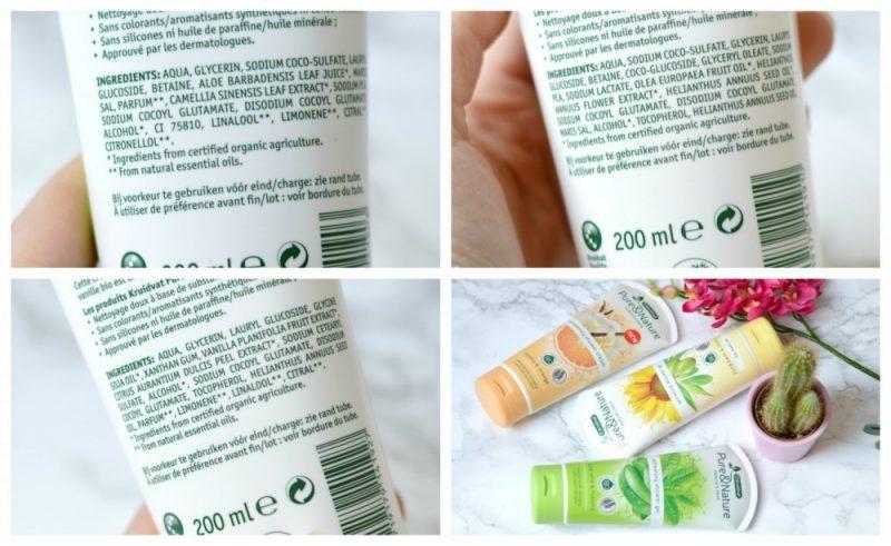 Kruidvat Pure Nature ingrediënten