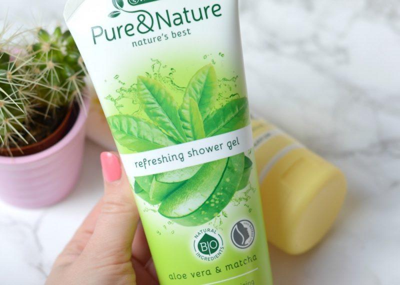 Kruidvat pure & nature aloe vera matcha review