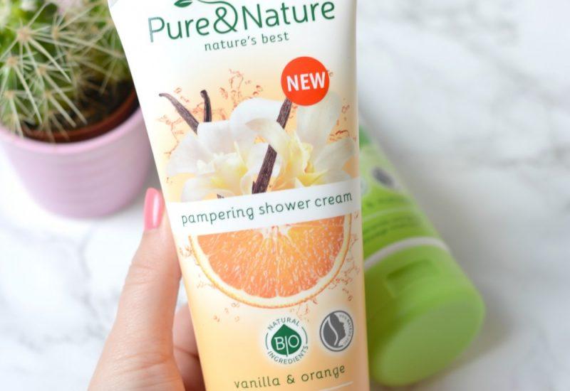 Kruidvat pure & nature vanilla orange review