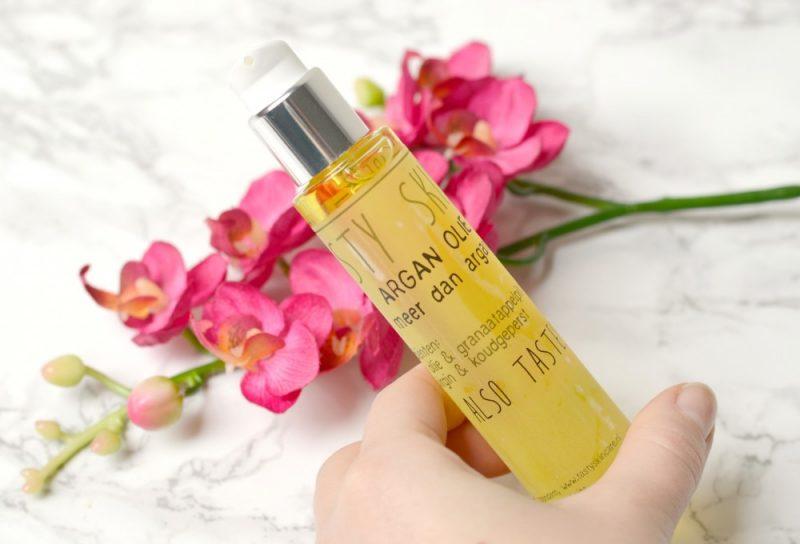 Review Tasty skincare argan olie