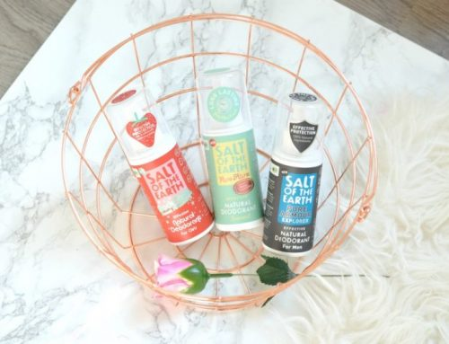 Salt of the earth natural deodorant sprays