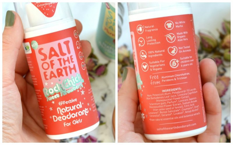 Salt of the earth deodorant girls review