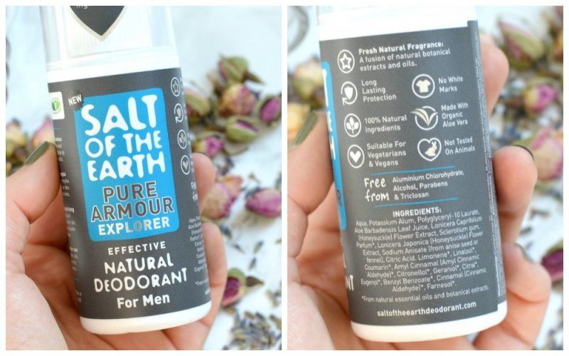 Salt of the earth men deodorant