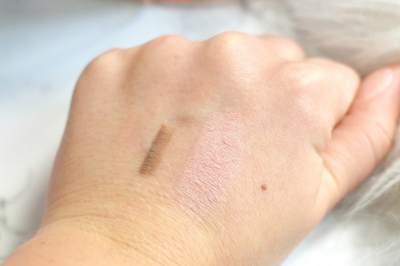 Alverde make-up swatches