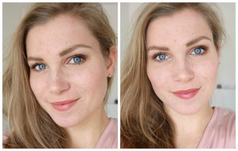 Boho natuurlijke make-up look