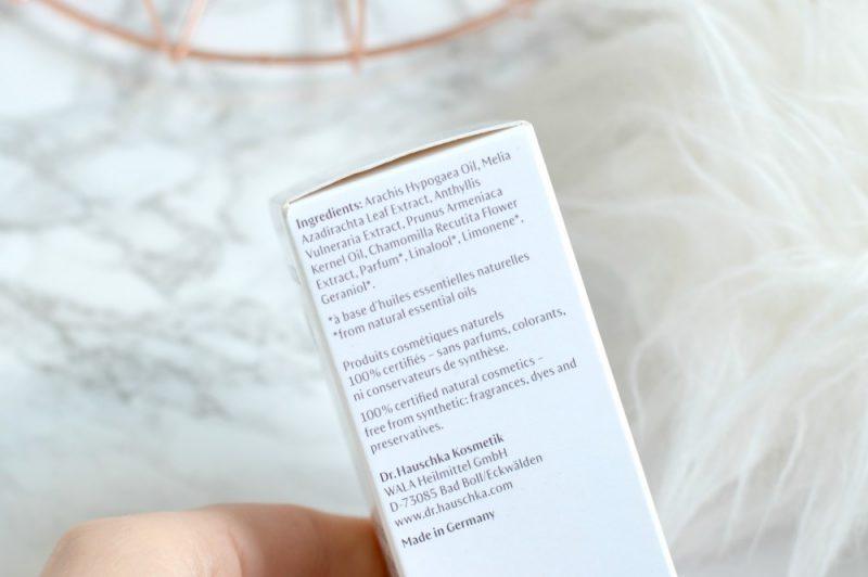 Dr. Hauschka nagelolie ingrediënten