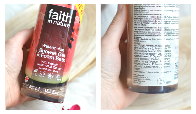 Faith in Nature douchegel review
